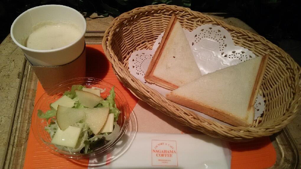 ホットサンド&スープセット (4)
